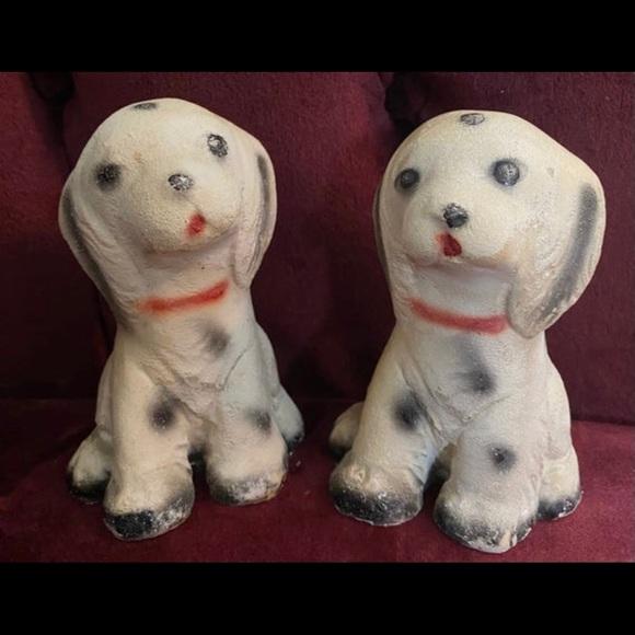 Dalmatian Pups Vintage 60's Figurines